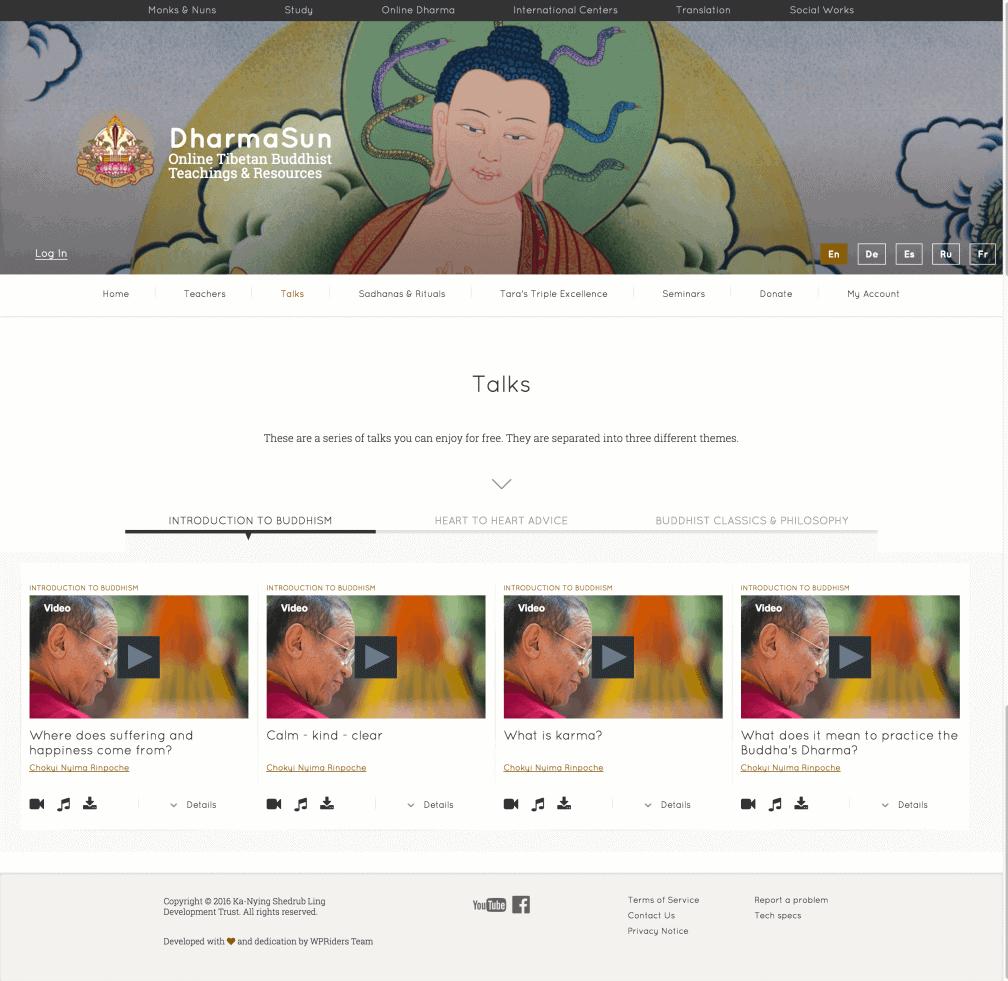 dharmasun-screenshot