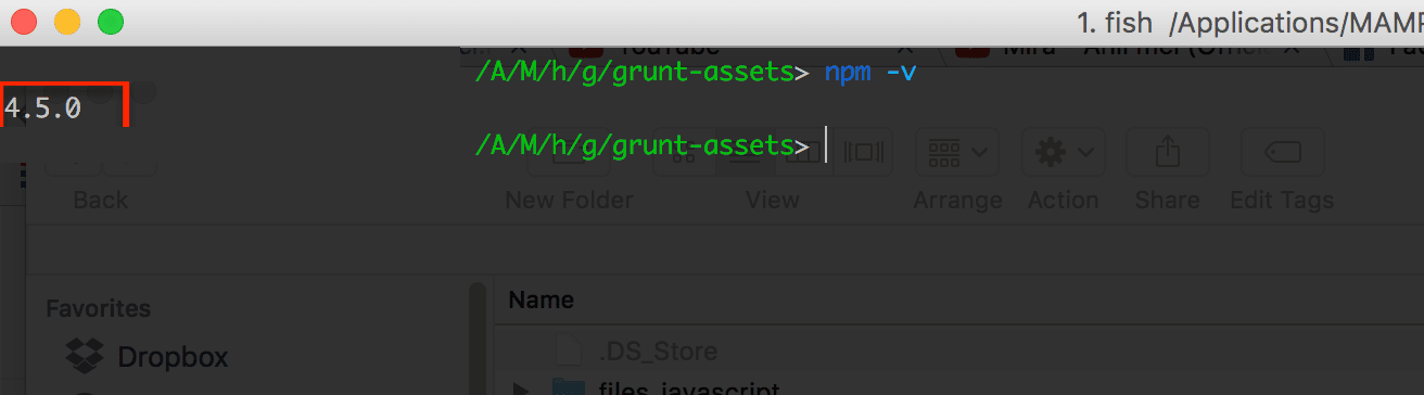 Practical Gruntfile to automate project related tasks