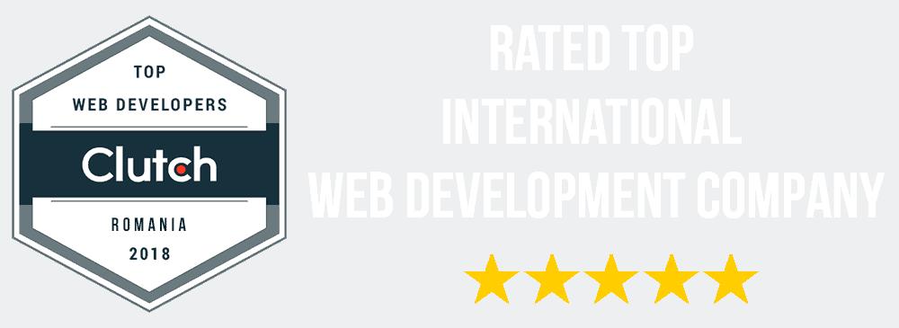 Rated Top International Web Development Company