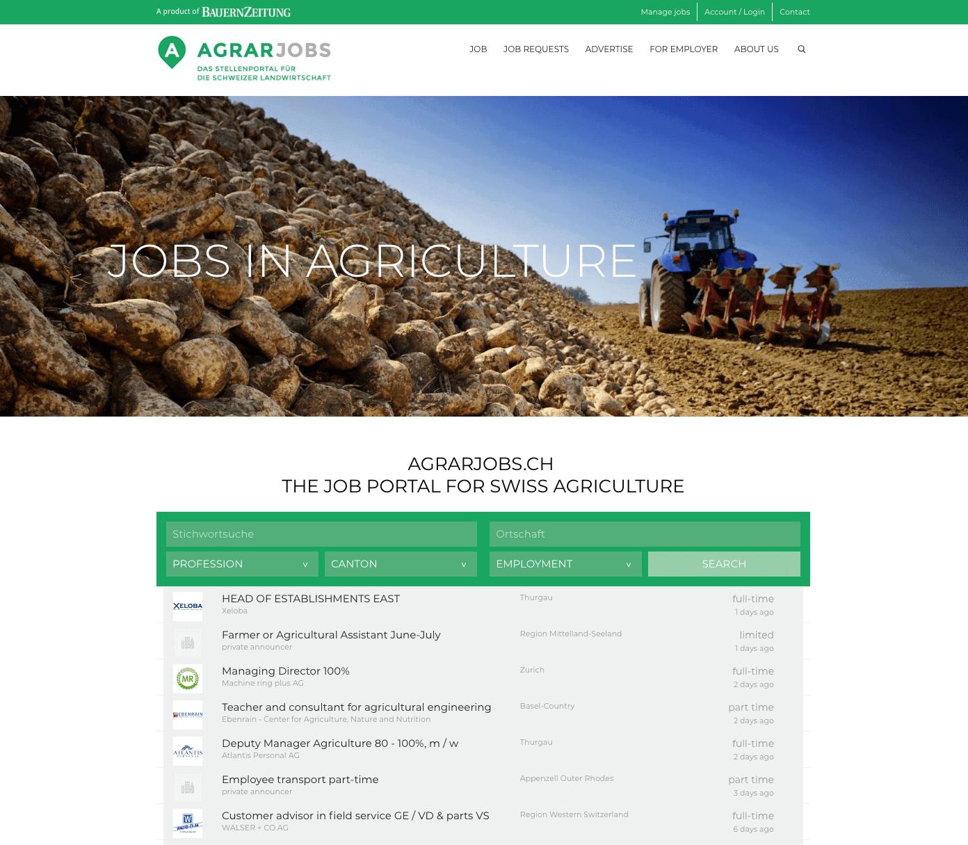 agrarjobs.ch