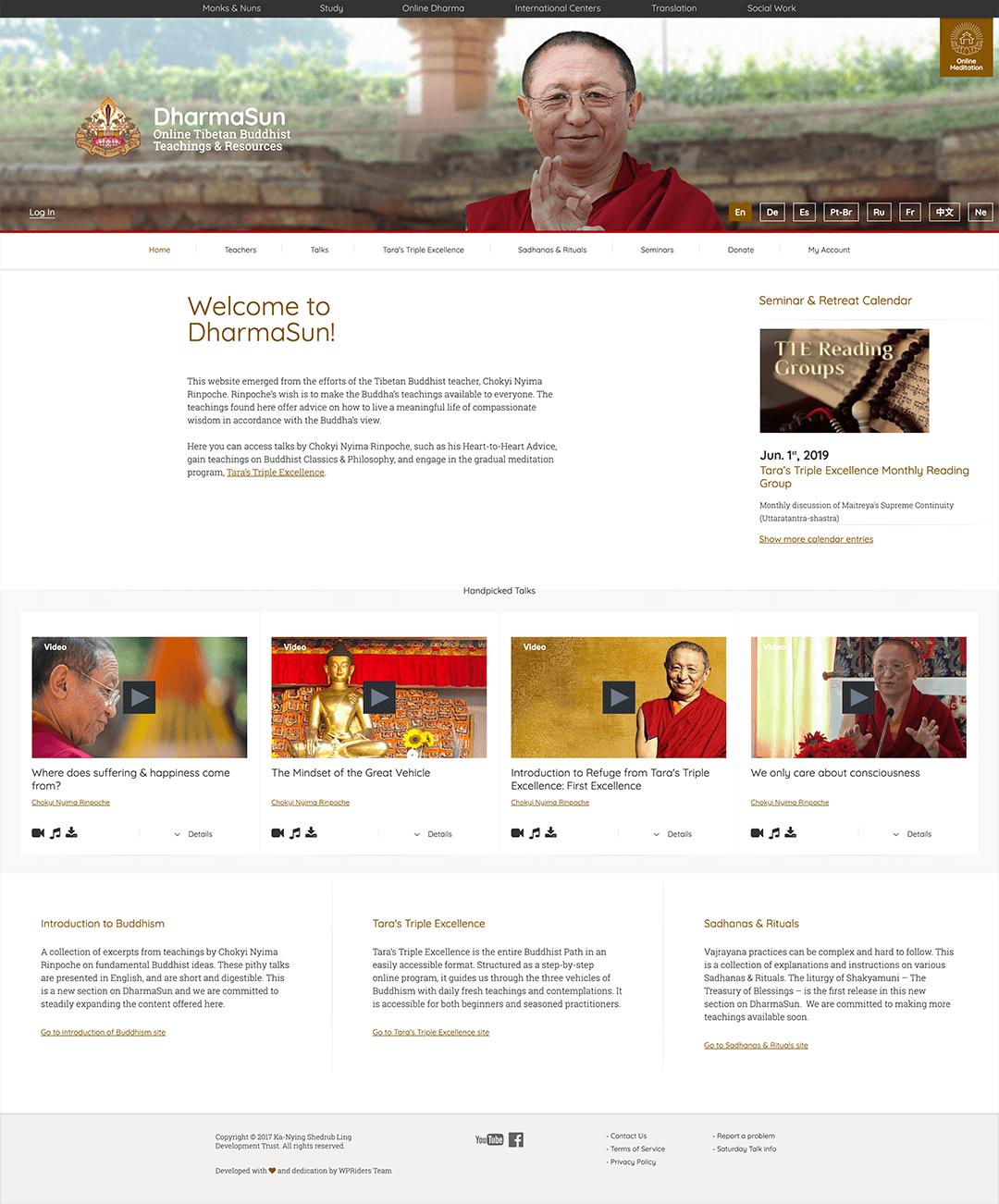 dharmasun.org