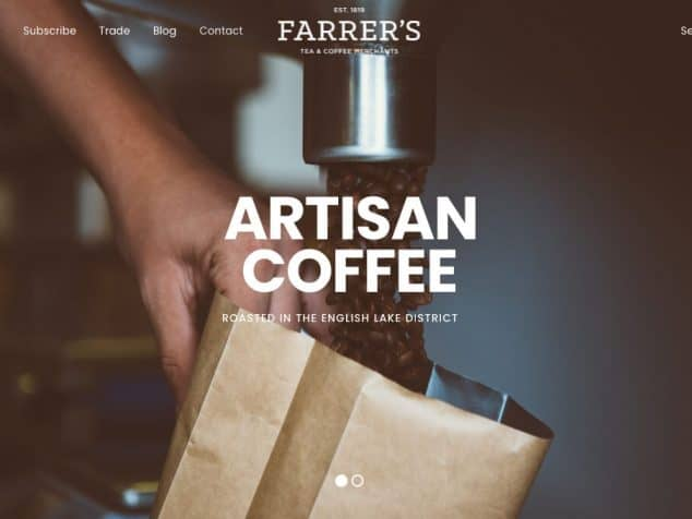 farrerscoffee.co.uk