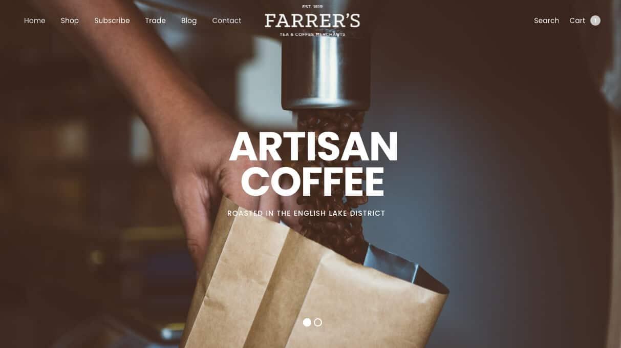 farrerscoffee.co.uk