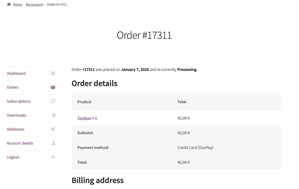 daopay-plugin-order-details
